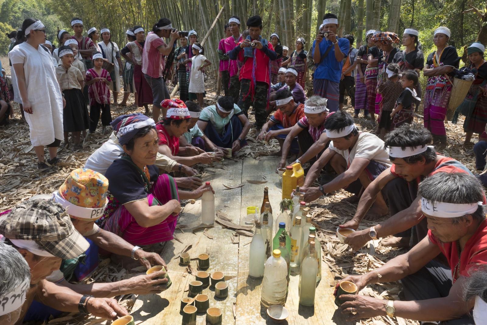 Karen Animist Prayer In Myanmar - New Naratif