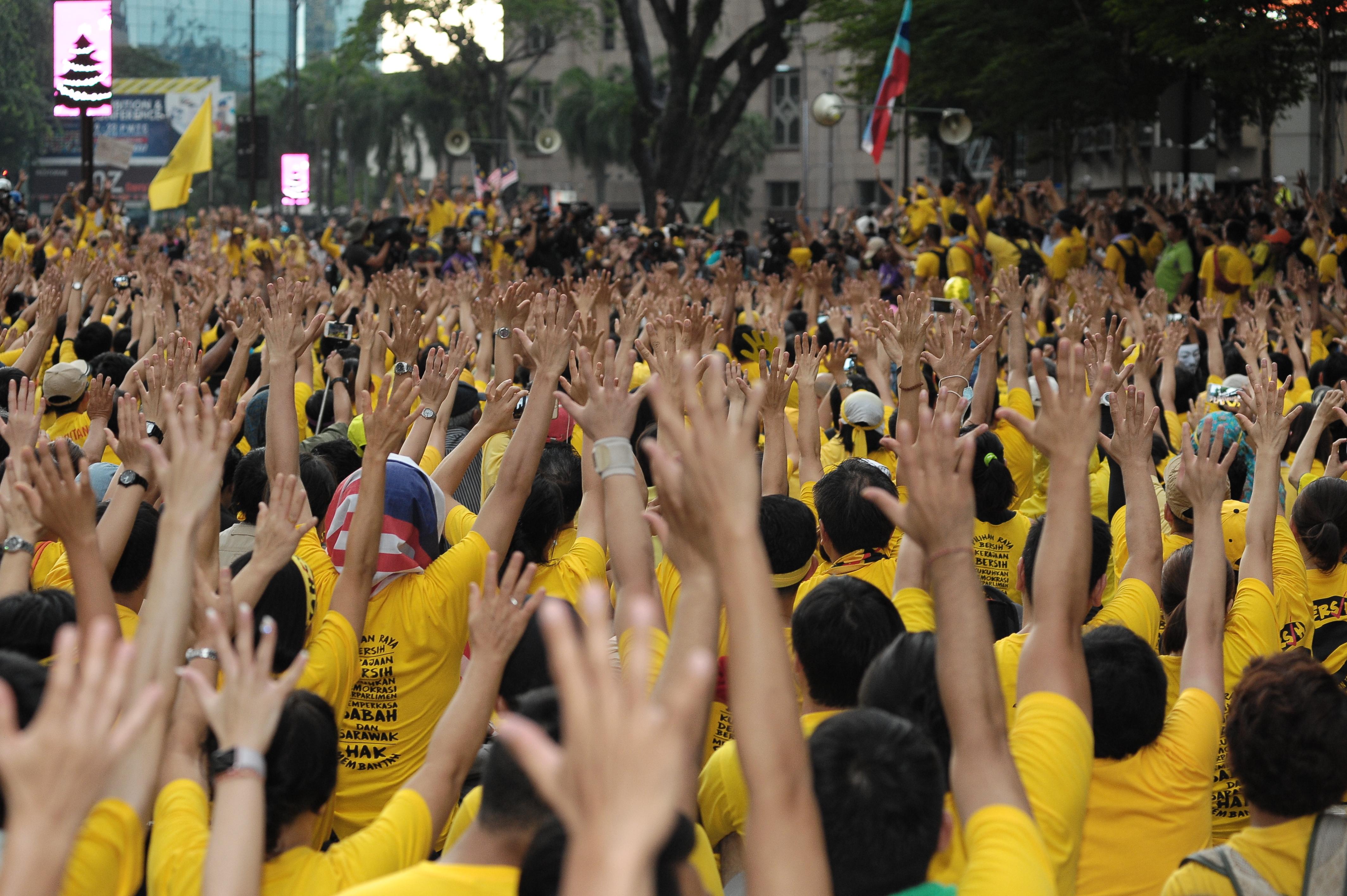 Bersih 5 - New Naratif