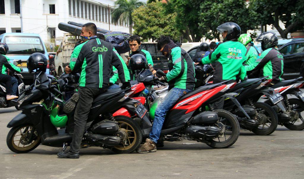Ojek in Jakarta - New Naratif
