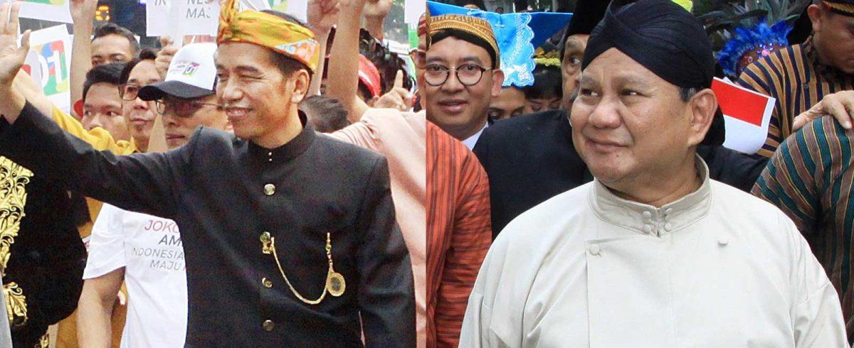 Jokowi dan Prabowo - New Naratif
