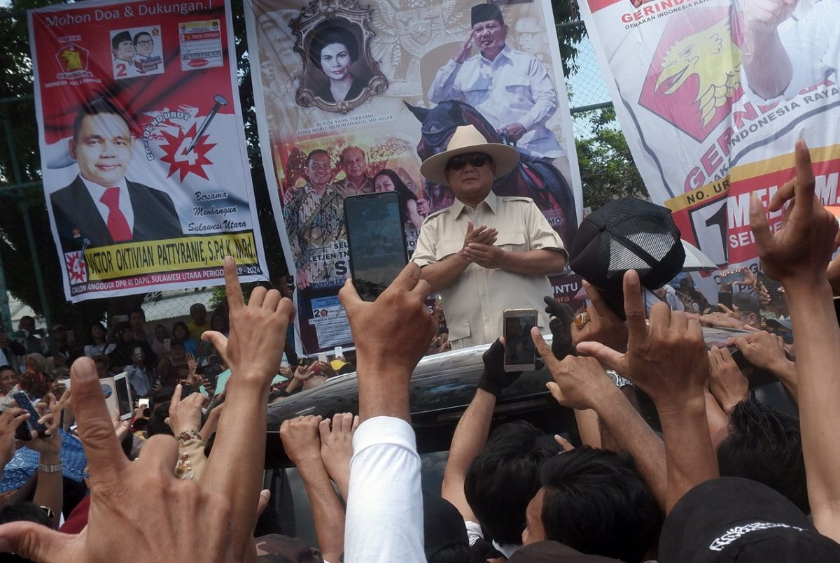 Prabowo in Manada - New Naratif