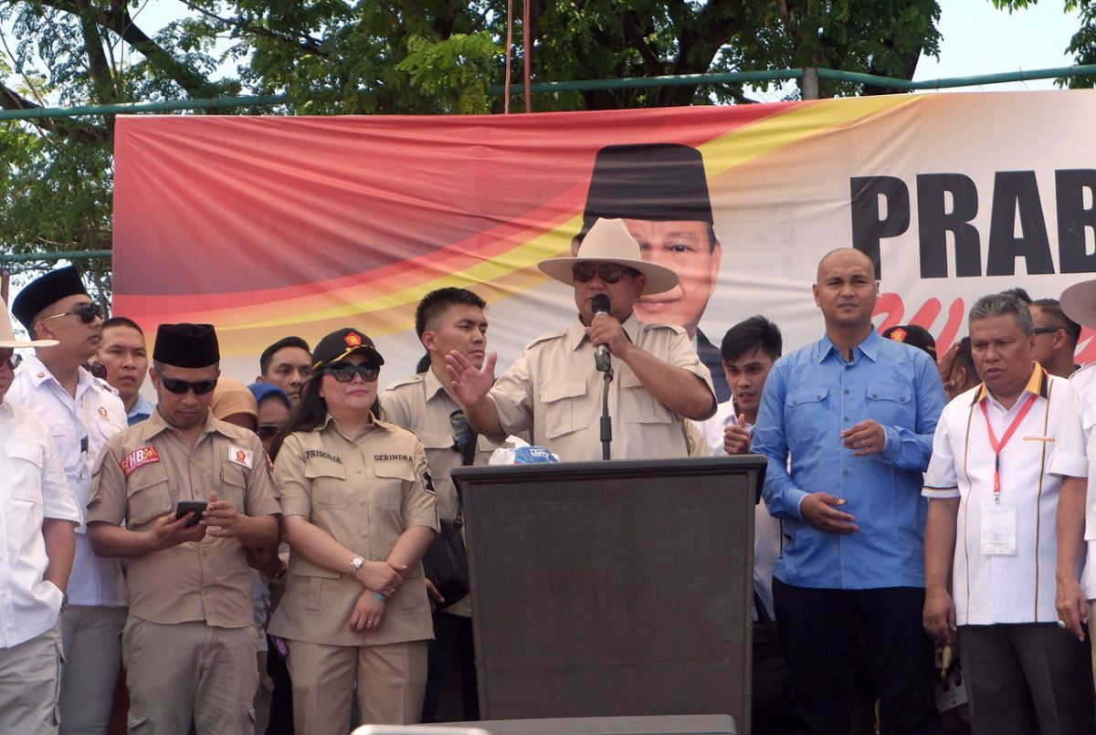 Prabowo in Manado - New Naratif
