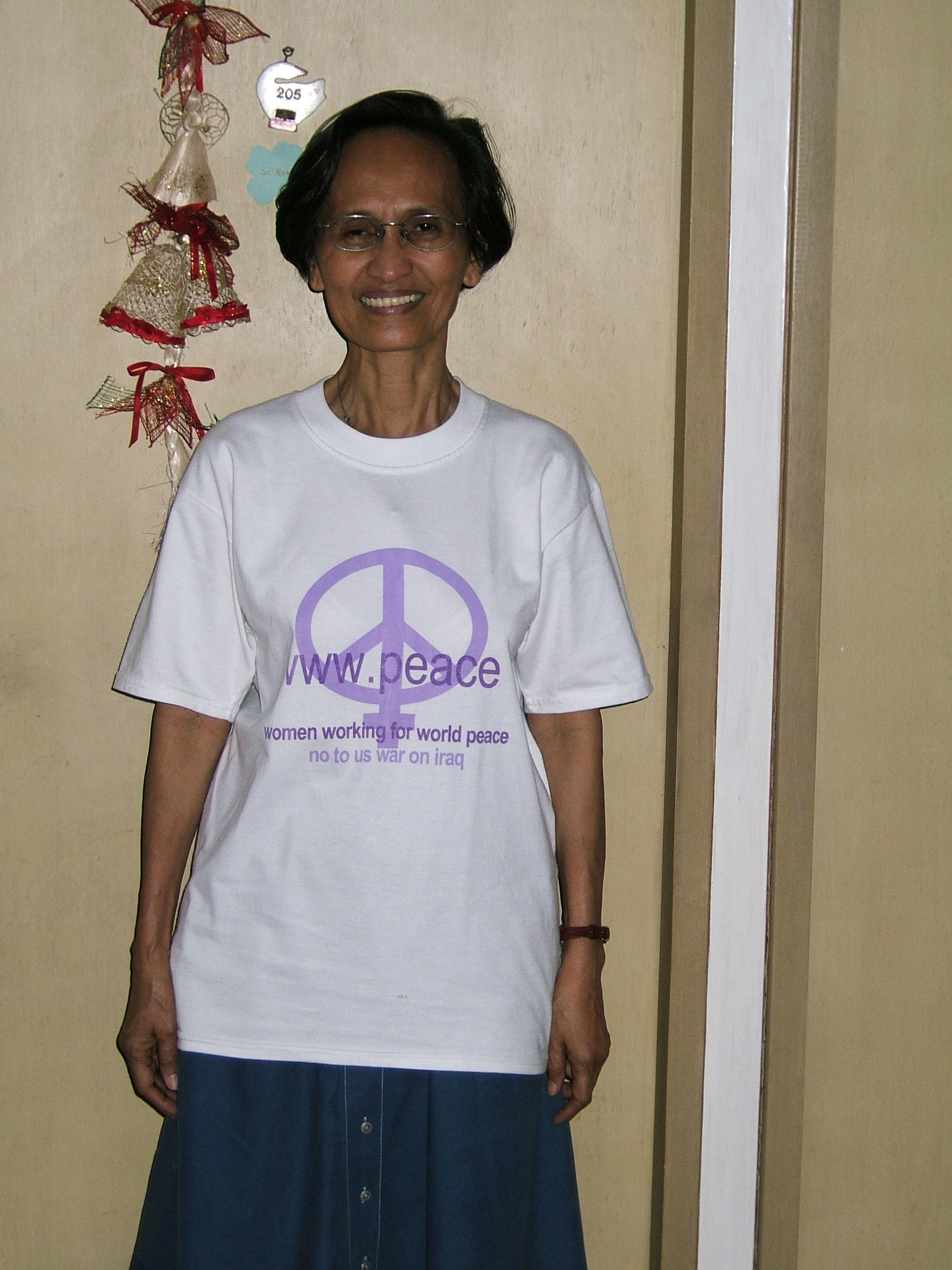 Rosario Battung RGS in civilian clothes - New Naratif