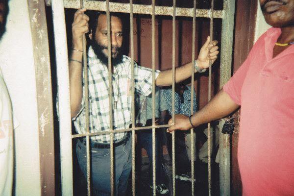 Benny Wenda in Abepura Prison - New Naratif