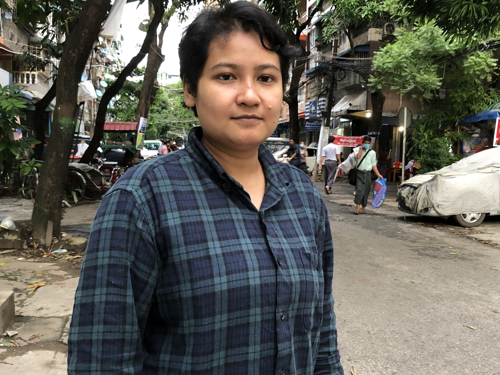 Filmmaker Seint Yamone Htoo.